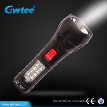 Leistungsstarke LED-Solar-Taschenlampe führte