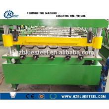 Металлическая профильная рулонная машина для профилирования оцинкованной стали