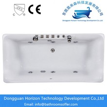 Hydromassage square tub  seamless bathtub