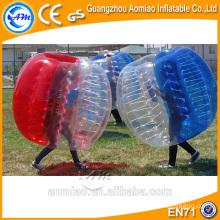Custom feito corpo inflação bola terno inflável bola de amortecedor tpu