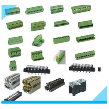 Elektrische steckbaren 5,0 5.08 PCB-Klemmleiste