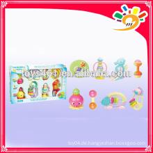Lovely Plastic Bell für Baby 8Pieces Ein Set Rocking Bell Spielzeug