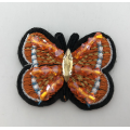 bunte Maschine Perlen Schmetterling Patch