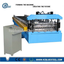 Africa Good Quality Low Price PLC Control Full Automatic Corrugated Glazed Galvanized Steel Roll Forming Machine Production Line