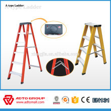 6063-T5 dual side aluminum ladder,A type step ladder,two step ladder with handle