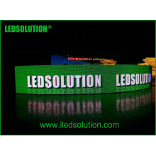 Outdoor Curve LED Display for Advertising