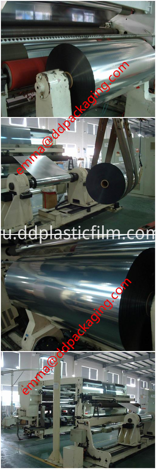 PET metallized film