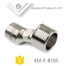 EM-F-B185 écrous excentriques en laiton chromé NPT joints excentriques de filetage G