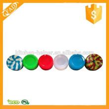Impermeável Diferentes cores Non Stick Silicone Standard Jars