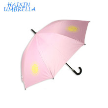 Wholesale Windproof Outdoor Automatic Golf Umbrella Promotional with Logo Printing 23 Inch Anti UV Umbrella For Sport Club Gift