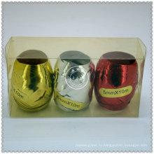Оптовая изготовленный на заказ Тесемка цвета яйцо для подарка декоративная