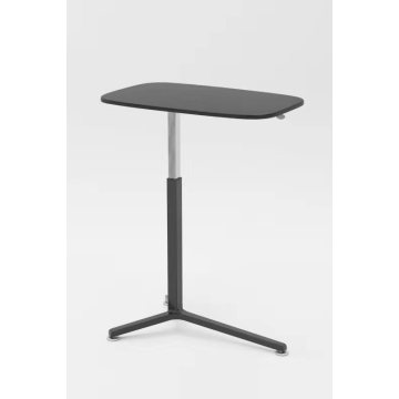 Table de lit assis debout Noir