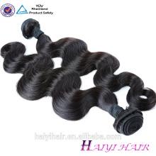 Cheveux malaisiens enchevêtrement gratuit gratuit rejet de cheveux humains vierge