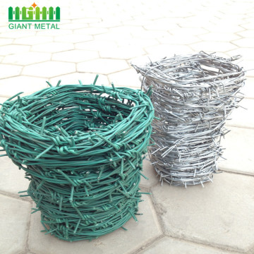 Double Twisted Hot Dipped Galvanized Barbed Wire