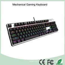 Top Sale CE RoHS LED com fio USB Backlight Mechanical Gaming Keyboard
