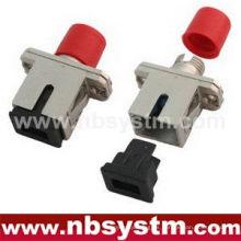 SC / PC - FC / PC HYBIRD adaptador simplex simple de metal