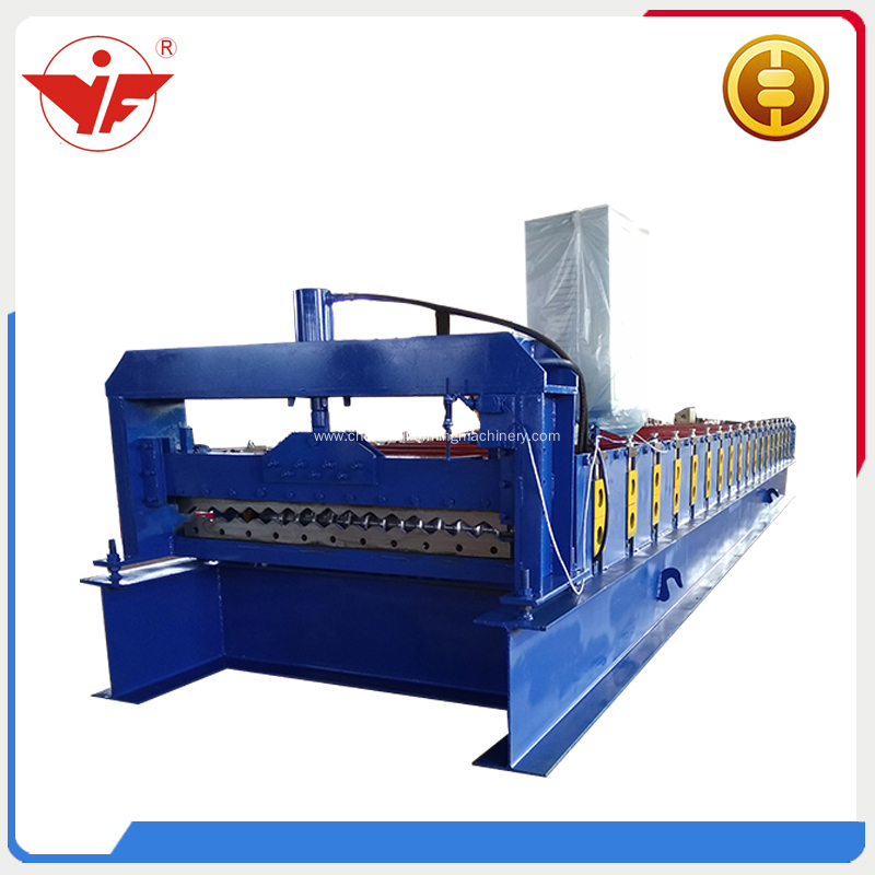 Galvanized corrugated sheet making machine