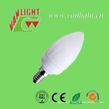 Bougie forme CFL 7W (VLC-CDL-7W-G)