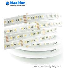 RGBW en una iluminación flexible de la tira del LED con 84LEDs / M