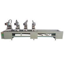 4 Head PVC Window Door  Profile Seam Welding Fabrication Machine