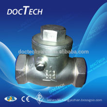 Screwed Check Valve Stainless Steel CF8 &CF8M