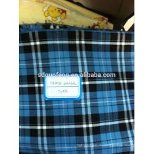 Рынок Филиппин пряжи, окрашенной равнине т-рубашки проверки хлопка ткани рубашка