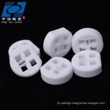 99% alumina round ceramic insulator for sensor