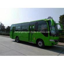 Portas duplas de 7,5 metros 29 lugares City Bus com motor CUMMINS (frente)