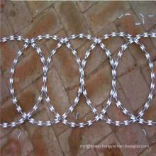 Hot Dipped Galvanized Razor Barbed Wire