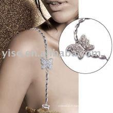 Bracelet en métal à papillon