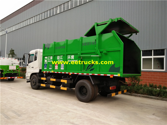 Dongfeng Docking Refuse Collector Trucks