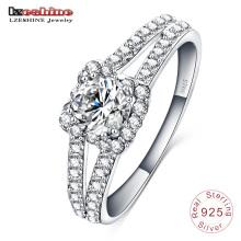 Bijoux de mariage 925 Bague en argent sterling pour femme (SRI0003-B)