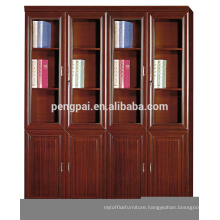 cheap antique wooden bookcase with photos333