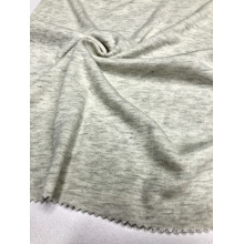 Gray CVC 1×1 Rib Knitting Fabric