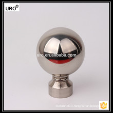 silver curtain finials for home window