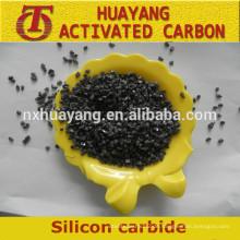 Herstellpreis von schwarz / grünem Siliziumkarbid / SiC für abrasives Material