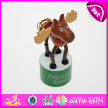 Hot New Product for 2015 Wooden Children Toy Wholesale, Latest Wooden Toy Happy Kid Toy, Newest Interesting Play Toy Kid W06D049