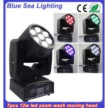 DMX RGBW stage lightings 12w beam moving head light