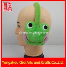 Singe de grenouille de jouet animal en peluche de peluche pour des enfants