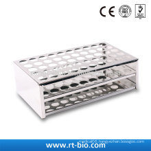 Rongtaibio Stainless Steel Test Tubes Rack