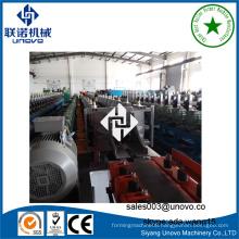steel c channel rollformer solar panel profile production line