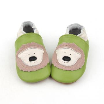 Animal Pattern Cute Baby Chaussures en cuir souple