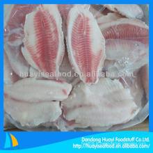 Des filets de tilapia congelés en vrac de bonne qualité prix