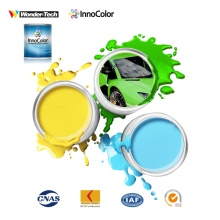 Sistema de mistura de tinta automotiva para basecoat
