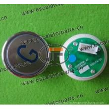 Sjec Aufzugsschaltfläche A4N28797 / A4J28796A3