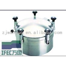 Сантехнический круглый люк из нержавеющей стали (IFEC-MH100008)