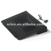 2012 más nuevo todo el cojín de enfriamiento ORICO NCA1511 del ordenador portátil de aluminio14inch
