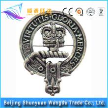China Supplier Metal Button Badge/Chaplain Badge/Enamel Badge