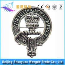 Emblema do botão do metal do fornecedor de China / emblema do chaplain / emblema do esmalte