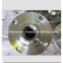 Roda de fundição de areia de ferro cinza com usinagem CNC